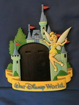 Walt Disney World Picture Magnet Tinkerbell/Castle *Pre-Owned* t1 - $7.99