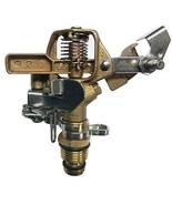MPLUS Heavy Duty Brass Impact Sprinkler Adjustable Coverage Pattern Spr... - $48.25