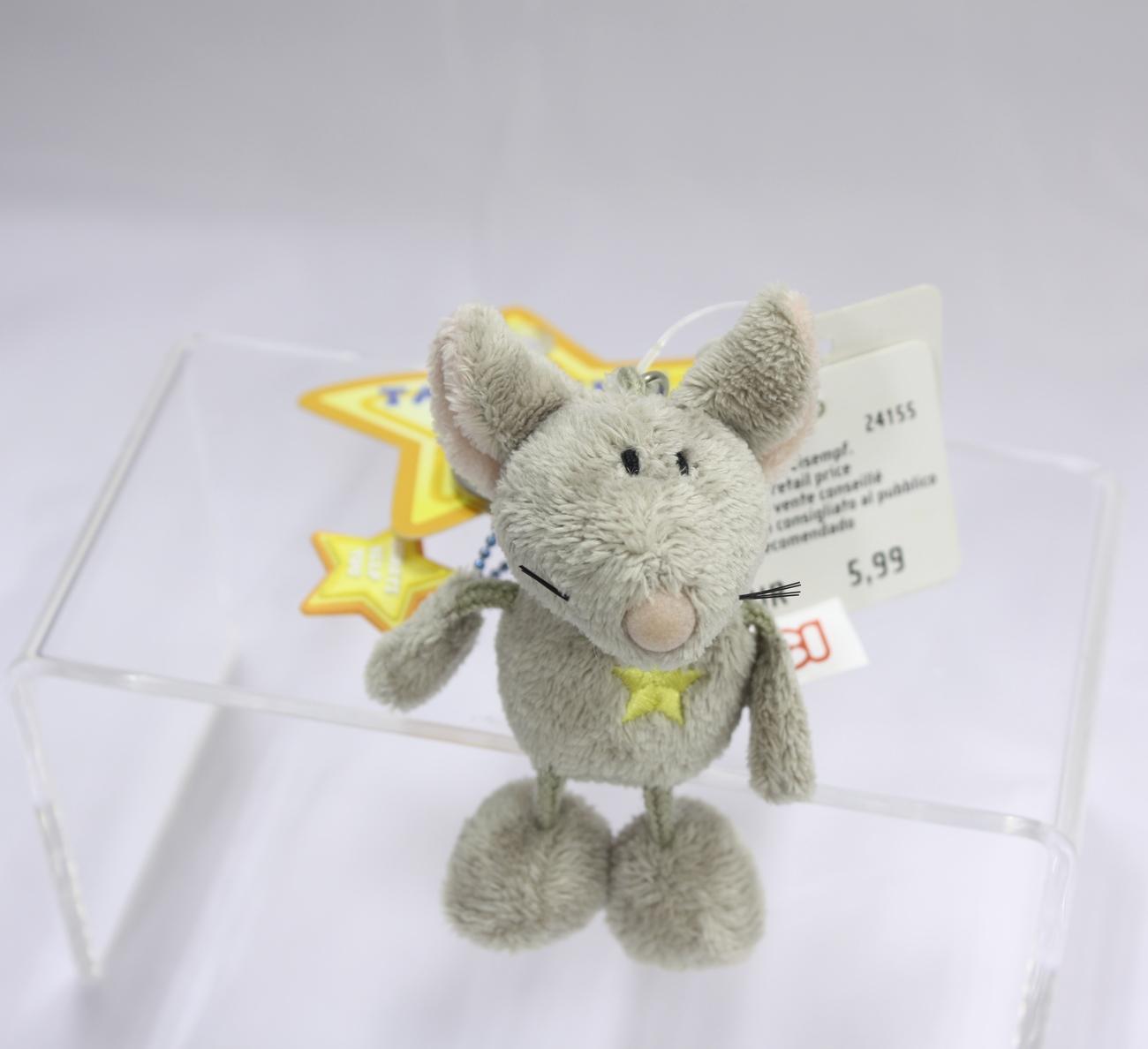 Keyring mouse grey 01