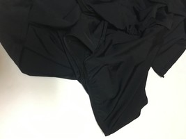Croft & Barrow Activity Swimwear Skirt 18W Black image 4