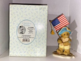 "Cherished Teddies Adam ""Loyal Soldiers, We Stan Tall"" Figurine - $34.99"