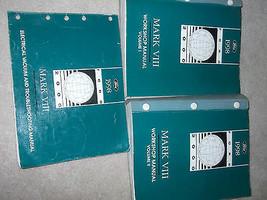 1998 Lincoln Mark VIII Service Atelier Réparation Manuel Atelier Set Usi... - $188.15