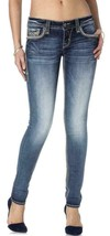 Rock Revival Women's Premium Skinny Light Denim Jeans Woven Pants Kida S