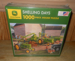 Great American Puzzle Factory John Deere Shelling Days 1000 pc Jigsaw Pu... - $38.68