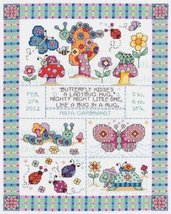 Birth Announcement Counted Cross Stitch Kit 1 pcs sku# 1172354MA - $43.24
