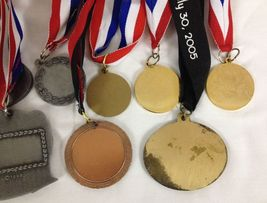 Lot of 14 Running Race Medals Medallions Awards From Various Events image 10