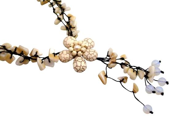 White Turquoise Necklaces Stylish Stunning Necklace