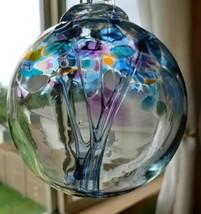 "KITRAS Art Glass Ball ""Tree of Enchantment"" Inspirational - $29.70"