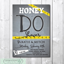 HONEY DO Shower Invitation printable/Digital File/Tool Shower, Couples S... - $14.99