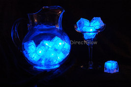 Set of 12 Blue LiteCubes Brand 3 Mode LED Light up Ice Cubes - $29.95