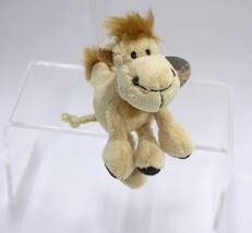 "NICI Ant Brown Animal Plush Stuffed Toy Beanbag Key Chain Keyring Camel 4"" - $12.50"