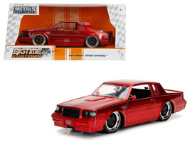 1987 Buick Grand National Candy Red 1/24 Diecast Model Car by Jada - $34.30