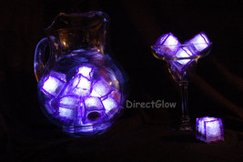 Set of 12 Purple LiteCubes LED Light up Ice Cubes - $28.95