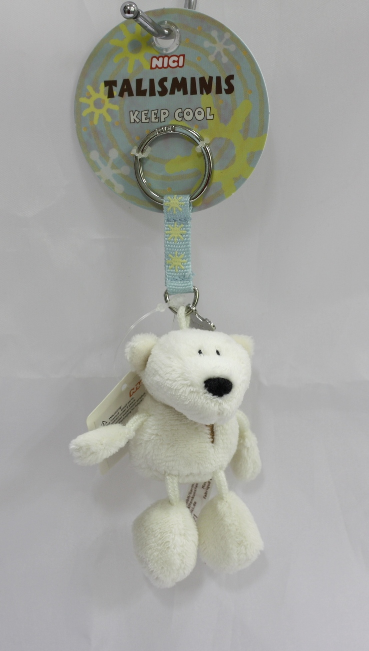 Keyring polar bear 01