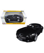 Mercedes AMG GT Metallic Black 1/18 Diecast Model Car by Maisto 36204BK - $60.77
