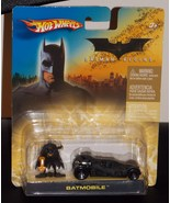 2006 Batman Begins Hotwheels Batmobile With Figure New In The Package - $19.99