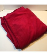"2.75 Yards Magenta Velour Fabric 52"" wide Polyester - $19.34"