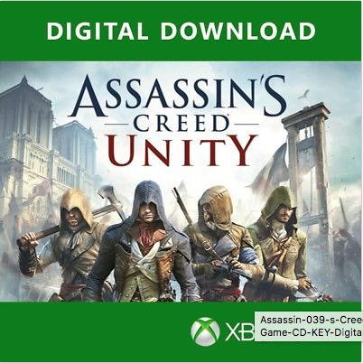 Assassin's Creed : Unity Xbox One Full Game CD KEY for sale  USA