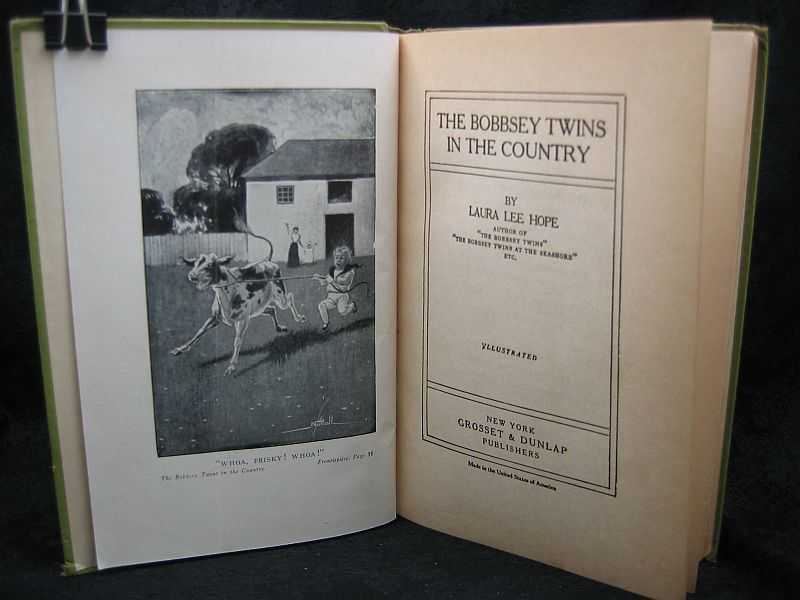 The Bobbsey Twins in the Country by Laura Lee Hope 1907