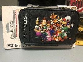 NEW - Super Mario Characters Game Traveler Black Case, Nintendo DSi & DS... - $5.85