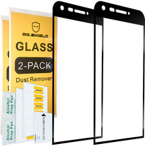 [2-PACK]-Mr Shield For LG G5 [Tempered Glass] [Full Cover] [Black] Scree... - $31.17
