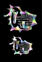 Bio Electrical Design Airbrush Stencil,Template - $10.99