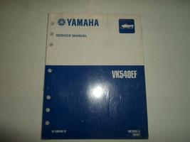 2001 Yamaha VK540EF Service Manual Reparación Fábrica Oem Libro 01 Concesionario - $35.76