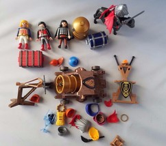 Playmobil Knights Castle Miscellaneous Lot Accessories Play Set Toys Fur... - $25.21