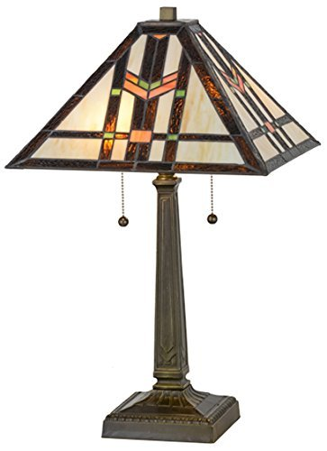 "Meyda Tiffany 119641 Prairie Wheat Table Lamp, 23.5"" H"