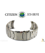 Citizen Eco-Drive S062926 Silver Tone Stainless Steel Watch Band S062977 S063191 - $111.55