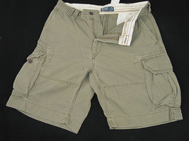 NEW! NWT! Polo Ralph Lauren Gellar Fatigue Cargo Shorts!  29  Olive - $49.99