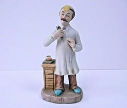 Vintage 1984 Seymour Mann Lefton Ceramic Dentist Pharmacist Figurine Rar... - $19.75