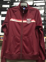 Nike Barcelona Track Jacket 2019 Away Burgundy Pink Size Medium Only - $79.48