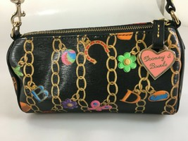 Dooney & Bourke Charm Chain Mini Barrel Shoulder Bag Handbag Purse  - $86.73