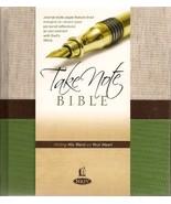 Take Note Bible (NKJV) (NKJV) [Hardcover] [Jan 01, 1982] NKJV - $42.52