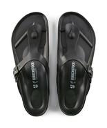 Birkenstock Womens Gizeh Black Fashion Slides Flip Flop Flat Sandals Siz... - £57.96 GBP