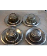 4 Vintage OEM Chevrolet Camaro/Corvette Rally Wheel Center Hub Cap Chrom... - $144.53