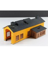 Lionel Single Stall Engine House Vintage HO Scale Building Built - $49.49