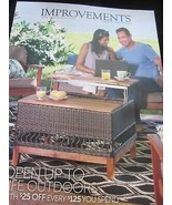 IMPROVEMENTS CATALOG OUTDOOR LIVING LIFESTYLE 2018 OPEN UP TO LIFE OUTDO... - $9.99