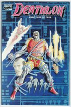 Deathlok Mini Series Book Four #4 Denys Cowan - Marvel 1990 - $4.50