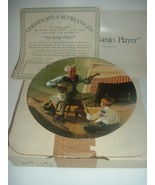 Norman Rockwell Banjo Player Plate Heritage Collection 1989 w/ Box & COA - $15.99