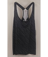 Champion C9 K9184 Women's Run Singlet Size XXL Diagonal Dotted Gray NWT - $11.29