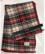 Lauren Ralph Lauren Royal Stewart Tartan Plaid Throw Blanket Jete Colcha... - $64.35