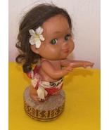 Vintage Hawaiian Doll Music Box  Plays Tiny Bubbles - $40.00