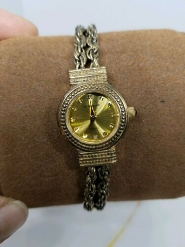 Vintage Tecnibond Ladies Watch Gold Rope Runs image 6