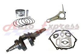 Honda GX160 Generator Roller Kit With Crankshaft Piston Rings Con Rod - $87.95
