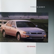 1992 Toyota CAMRY sales brochure catalog US 92 DX LE XLE V6 - $8.00