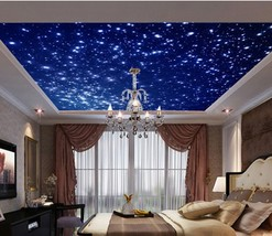 3D Ceiling space star 0299 Wall Paper Wall Print Decal Wall Deco AJ WALLPAPER - $37.39+