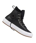 Converse Womens CTAS WP Boot Hi Waterproof Leather 557943C Black/White NWB - $59.98