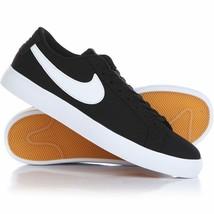 sale retailer 5b32f 66fc0 Nike Sb Blazer Vapeur Txt Textile Noir Gomme Skate 902663-010 Sz 10 Eur 44